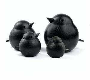 Bilde av Spurv svart eik mini