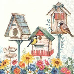 Bilde av Birdhouse for rent servietter lunch