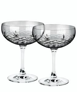 Bilde av 2 stk Champagneglass Gatsby smoke