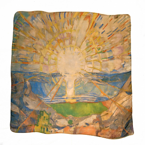 Bilde av Noma skjerf Edvard Munch Solen