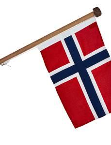 Bilde av Fasadeflagg luksus eik