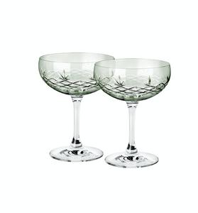 Bilde av 2 stk Champagneglass Gatsby Emerald